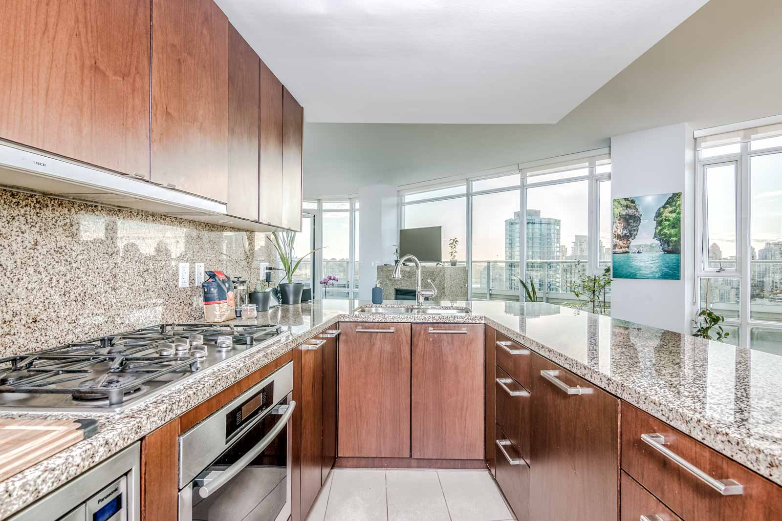 Bright Kitchen in Condo at 918 Cooperage Way Listed by Rental Property Management Company Birds Nest Properties