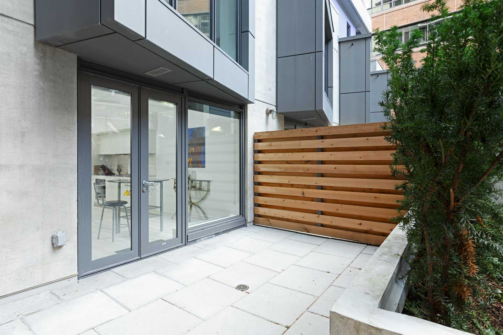 Entrance to Downtown Vancouver rental condo managed by Birds Nest Properties.