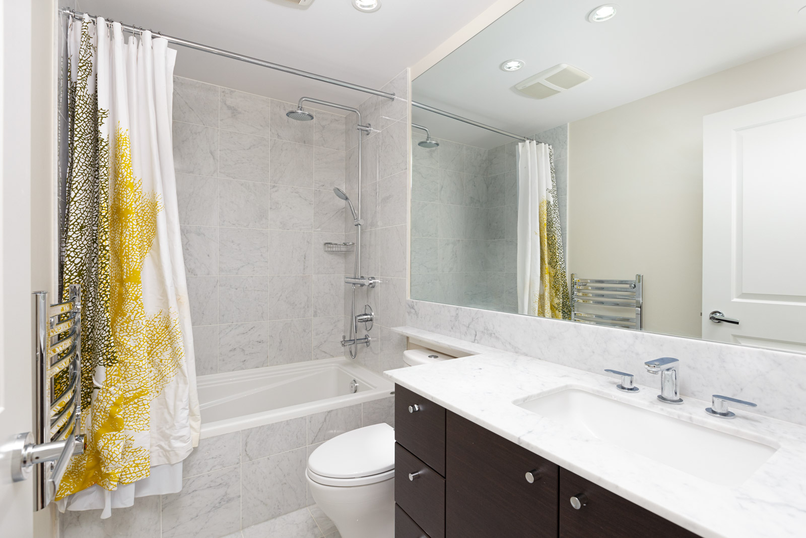 Bathroom in UBC rental condo.