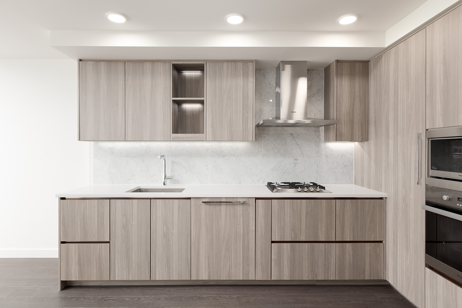 New Condo Kitchen at SW Marine and Cambie
