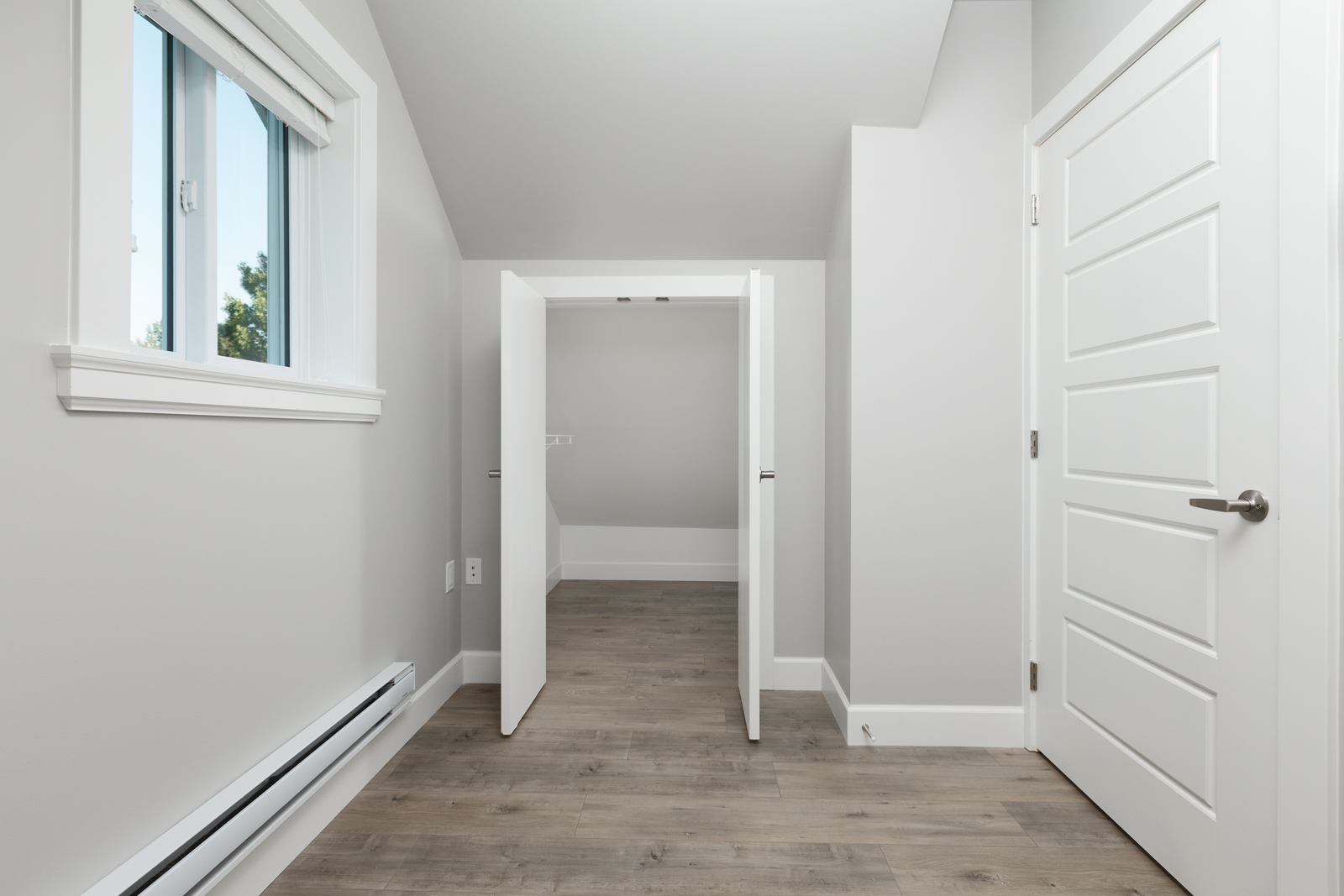 Interior hallway of Vancouver rental laneway home managed by Birds Nest Properties.