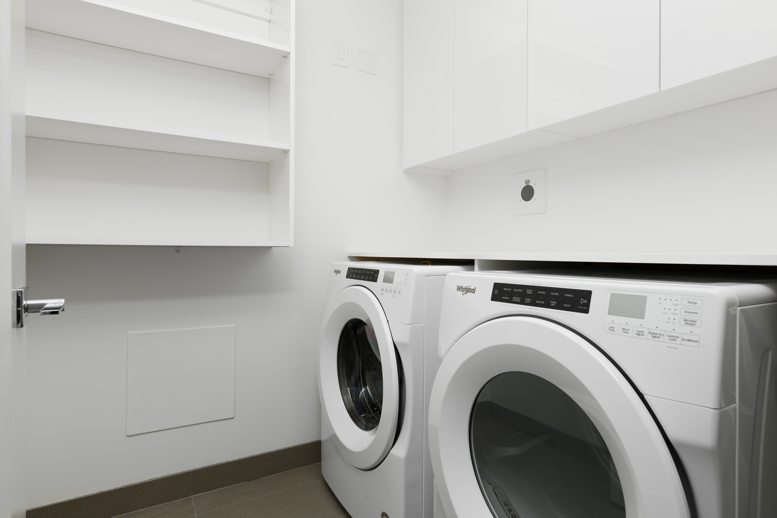 Washer dryer in rental property in The Kirkland building in Kerrisdale Vancouver