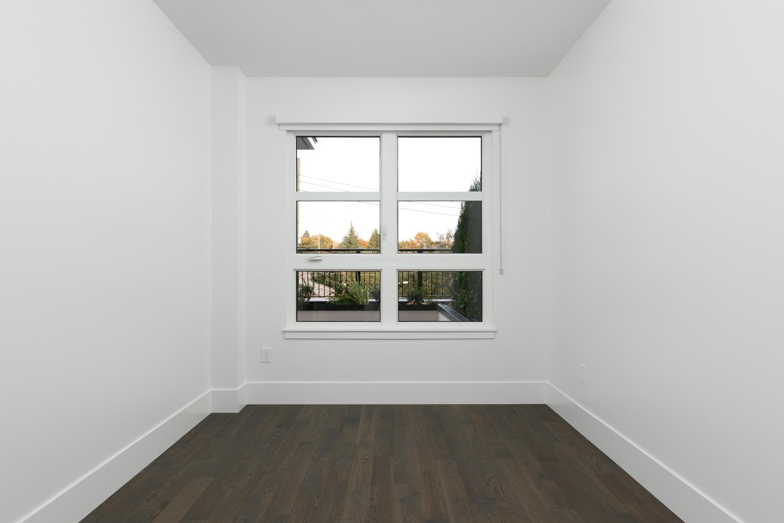 Bedroom in rental property in The Kirkland building in Kerrisdale Vancouver
