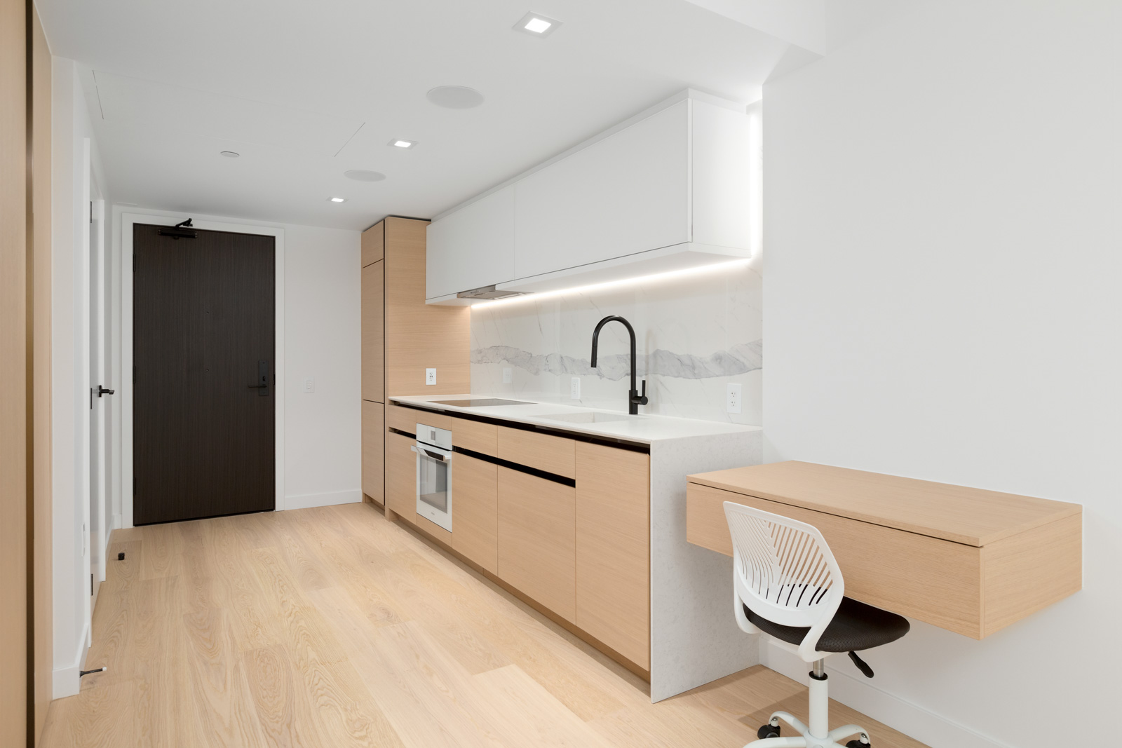 rental condo in brand new cardero building designed by henriquez partners architects in coal harbour in downtown vancouver