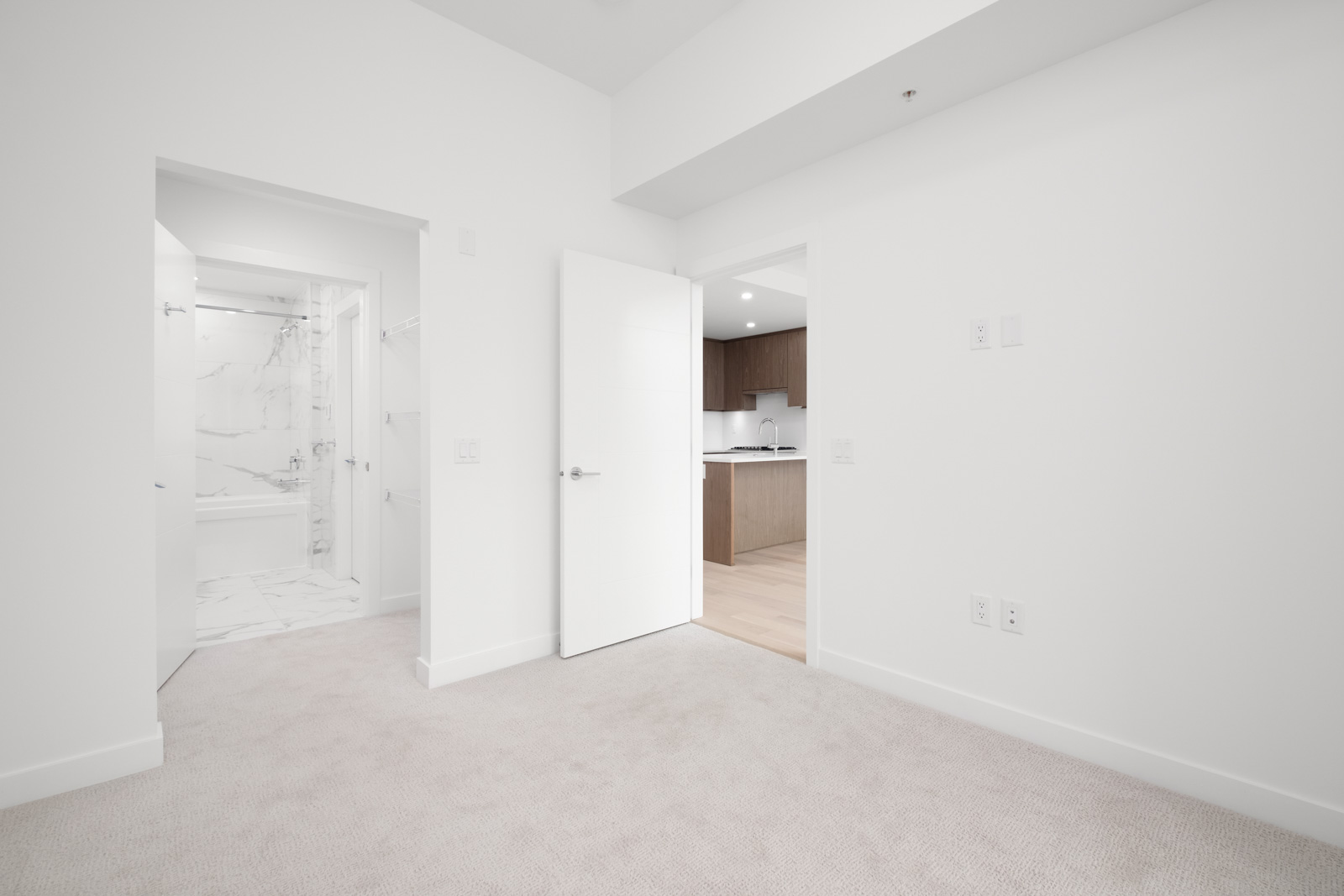 living room in rental condo in the Cambie Corridor neighbourhood of Vancouver