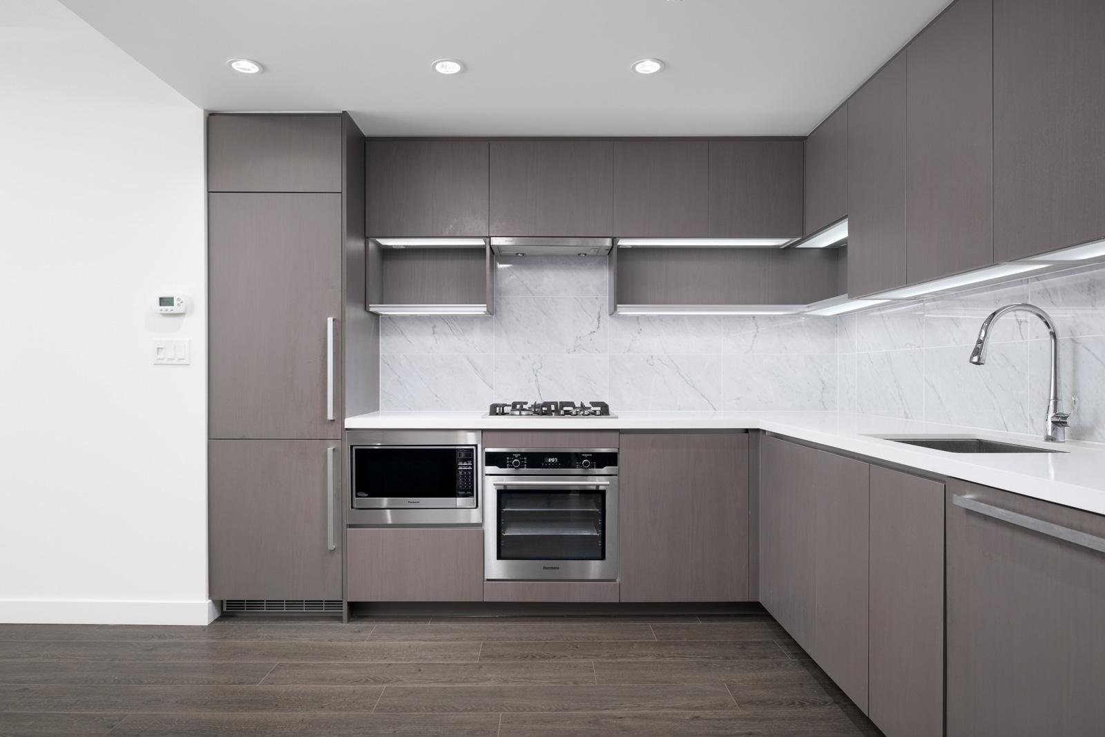 kitchen in rental condo with birds nest properties property management in burnaby