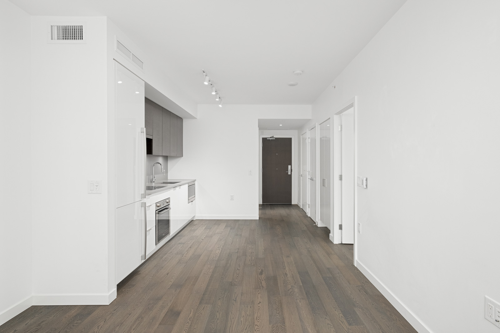 rental condo in navio building on pullman porter street in false creek olympic village managed by birds nest properties
