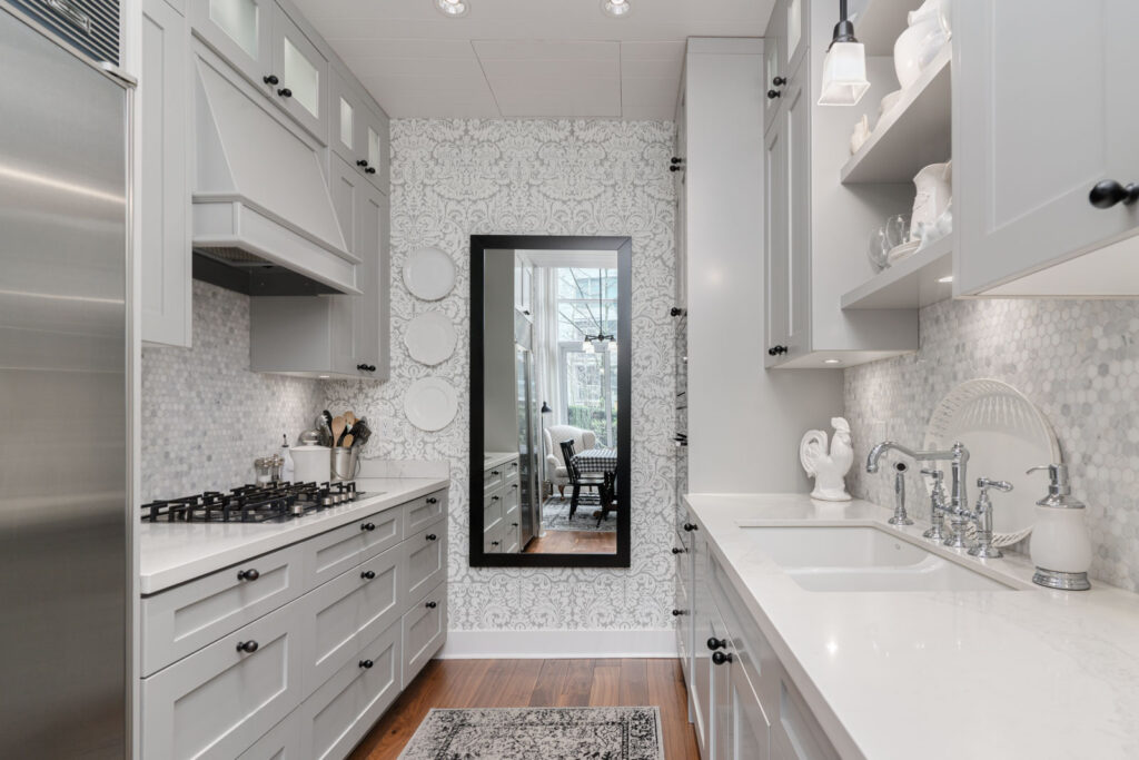 Kitchen in rental house with Birds Nest Properties property management in Vancouver