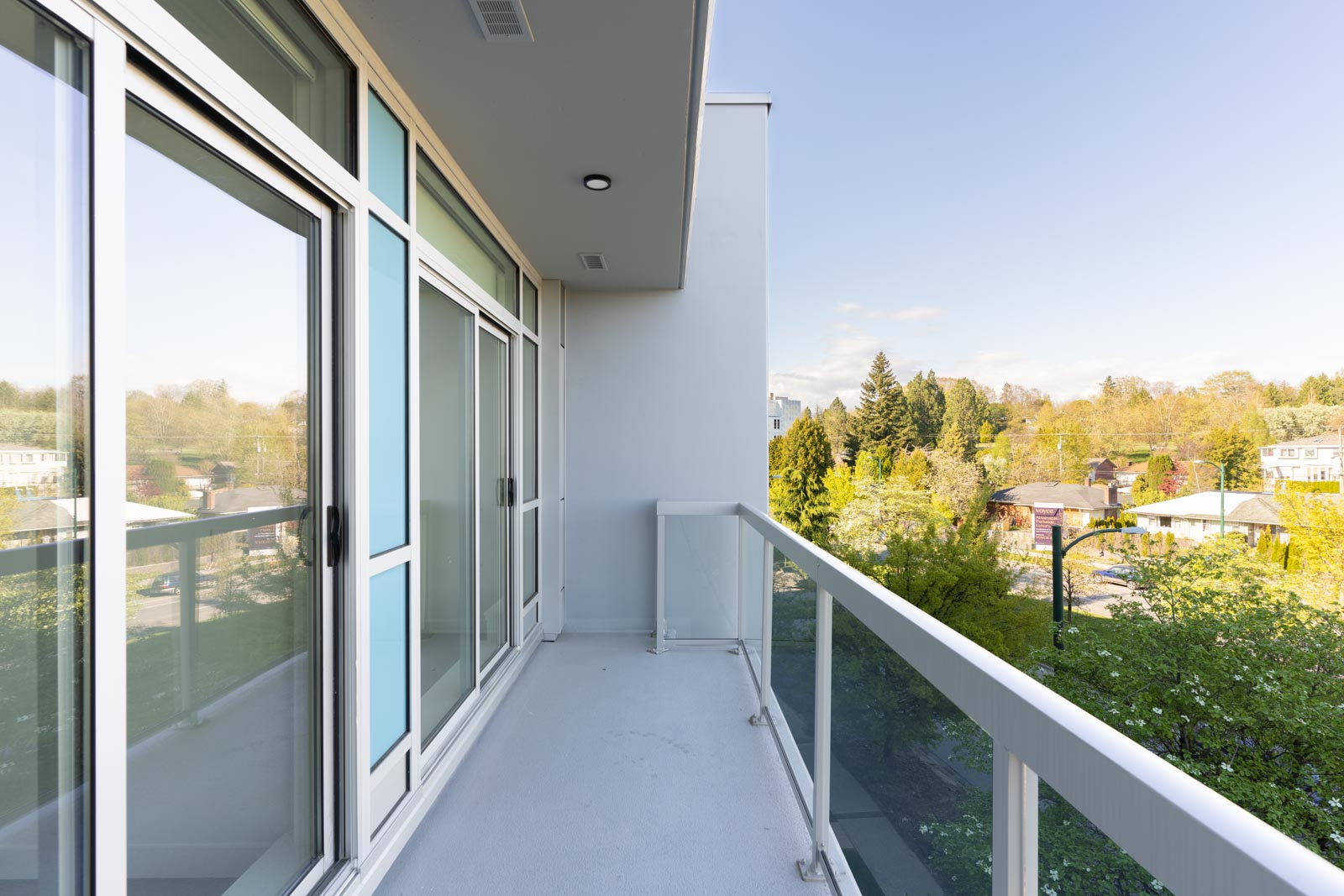 Spacious Balcony with beautiful view