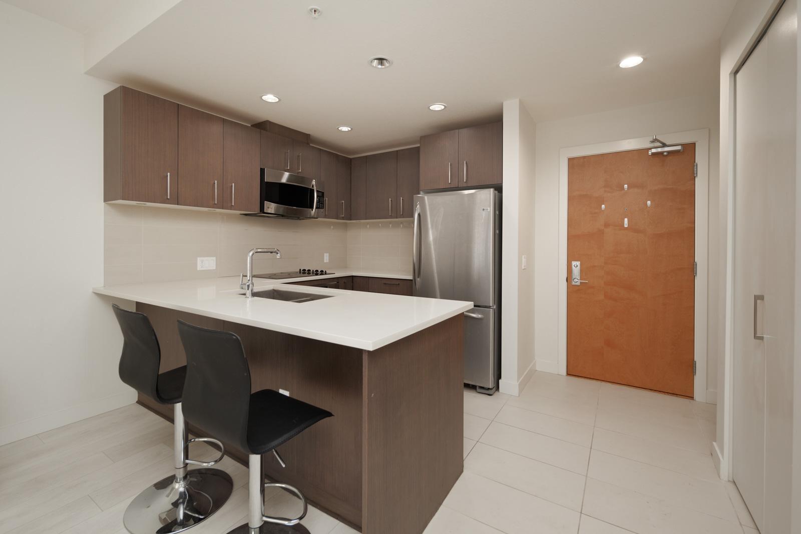 kitchen in rental condo with Birds Nest Properties property management in UBC