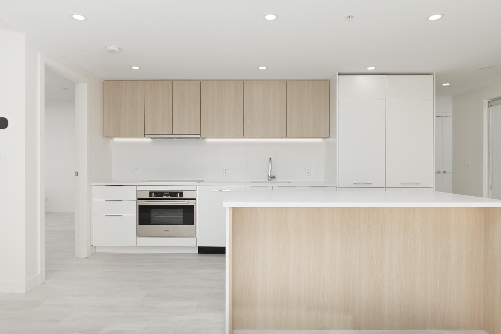 kitchen in rental condo with Birds Nest Properties property management in Surrey