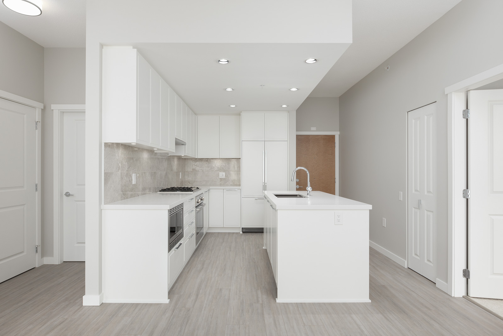 kitchen in rental condo at Currents at Water's Edge in the Downtown neighbourhood of Vancouver