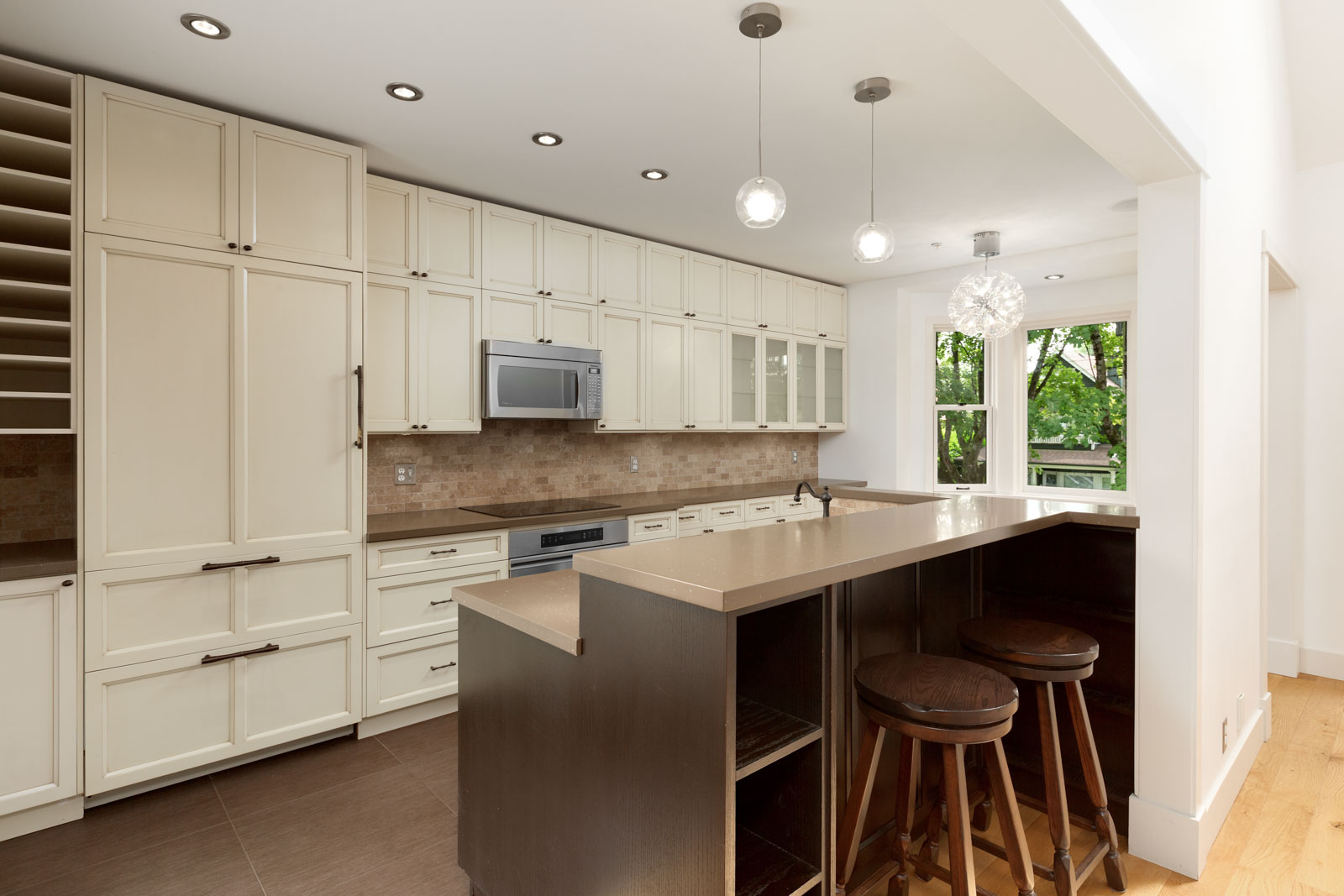 kitchen with high end appliances in house located in mount pleasant