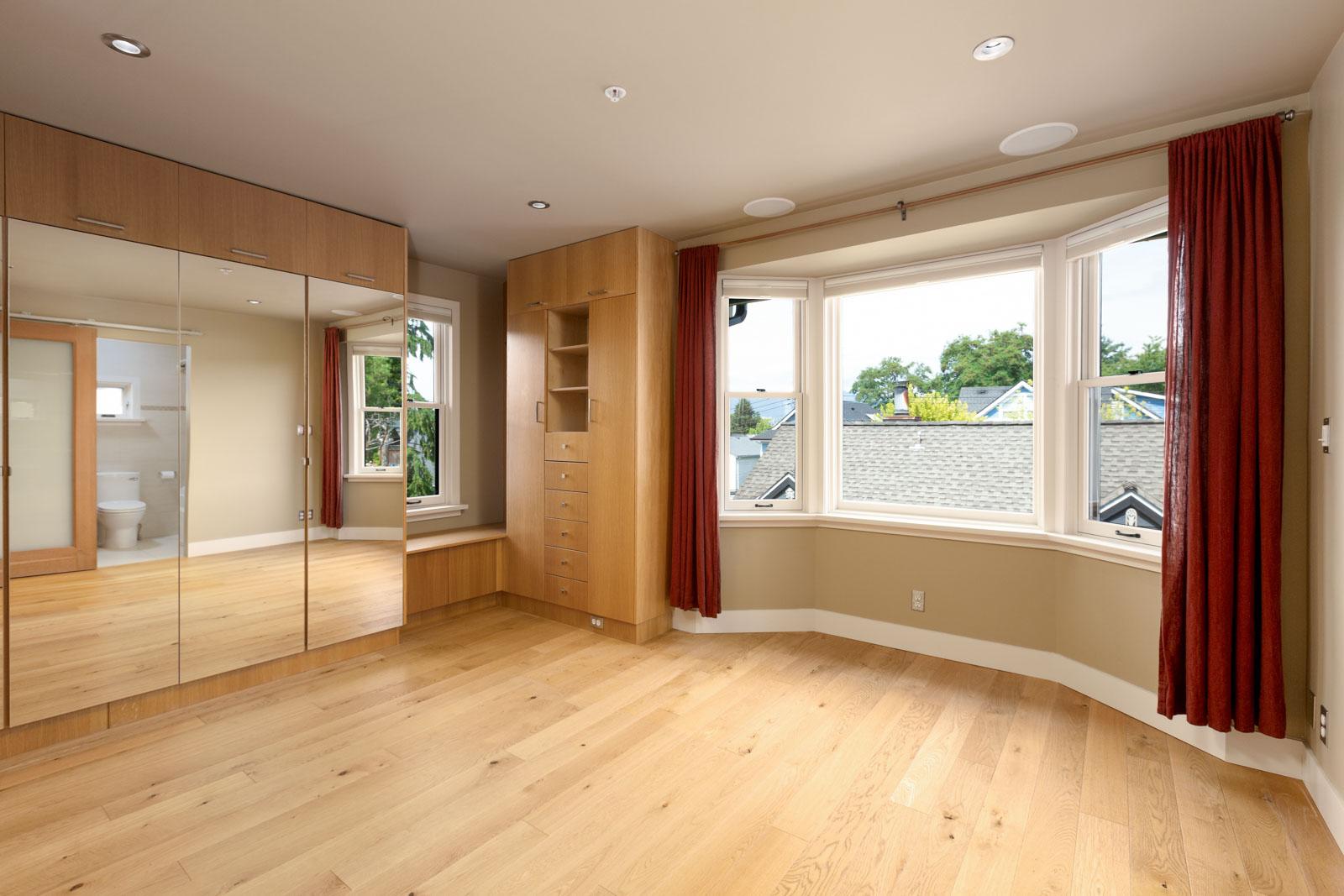 living room area with huge windows