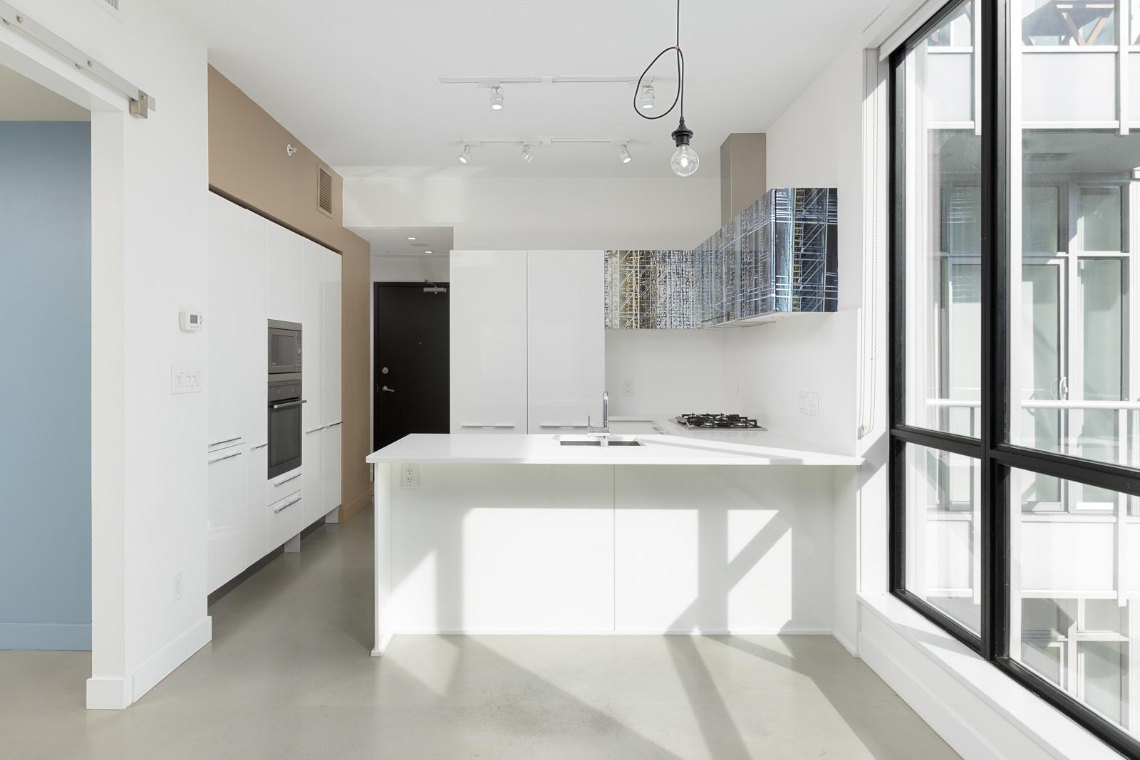 kitchen in upscale in Mount Pleasant condo