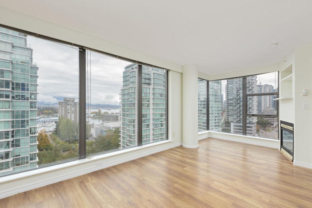 upscale downtown Vancouver condo